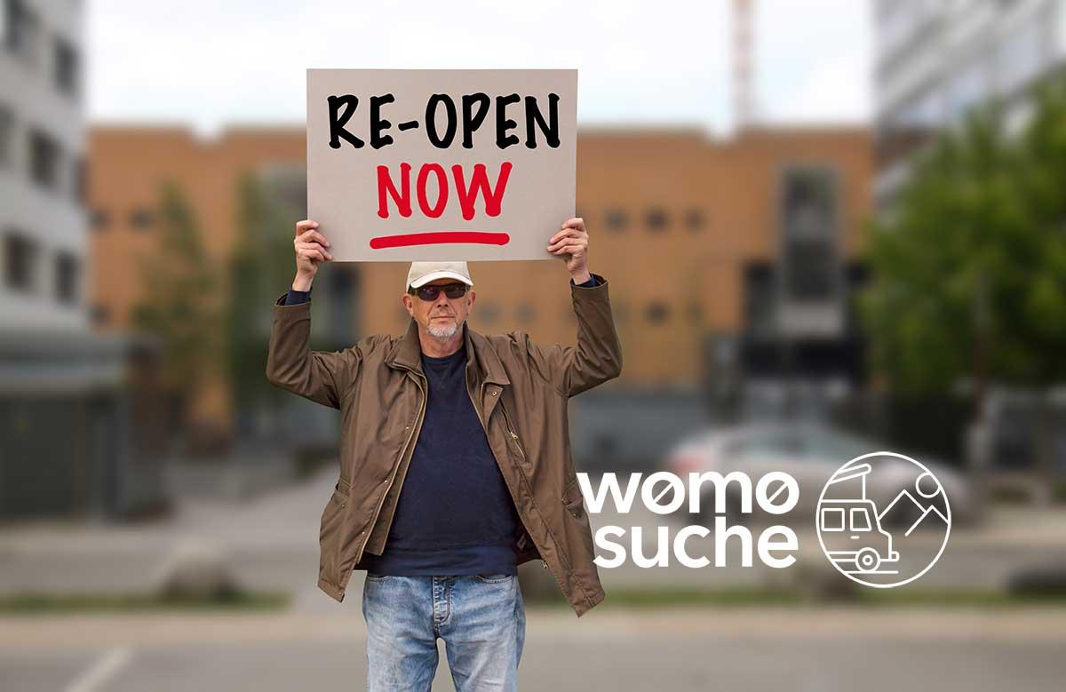 Online Petition Camping (Bildnachweis: istockphoto, Ole Schwander)